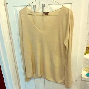 Theory lightweight linen sweater, excellent cond
